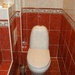 красиво обшить туалет панелями из пластика