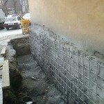 Классический метод укрепления фундамента частного дома