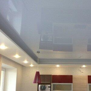 Как сделать глянцевый потолок