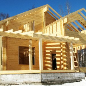 Как построить дом из бруса, советы, видео