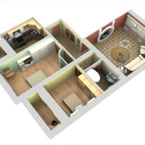 Как начертить план комнаты