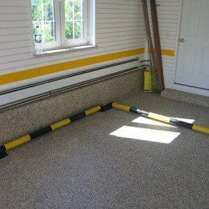 Как самостоятельно сделать пол в гараже