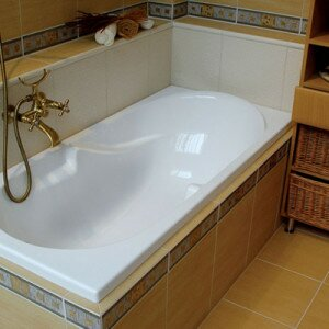 Как устанавливать акриловую ванну