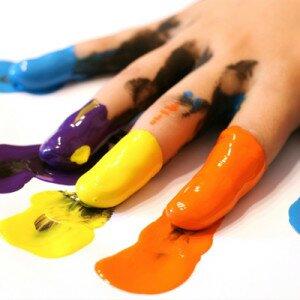 Как смыть краску с рук