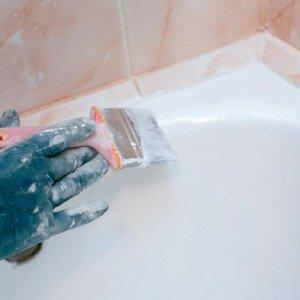 Как восстановить покрытие ванны