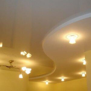 Как рассчитать подвесной потолок