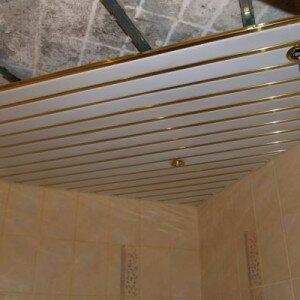 Как монтировать потолок