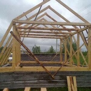 Как сделать ломаную крышу