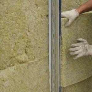 Как утеплить стенку