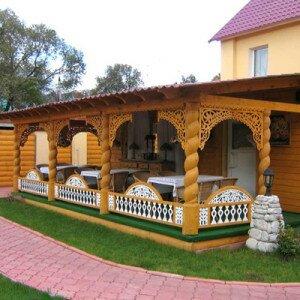 Как пристроить веранду к домику