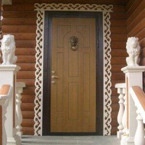 Как вставить входную дверь