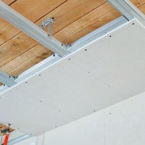 Как прикрутить потолки
