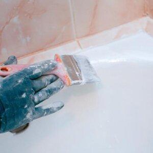 Как восстановить эмалевое покрытие ванны