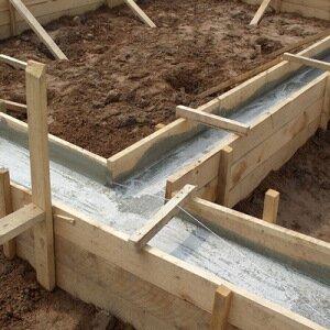 Как закладывать фундамент дома