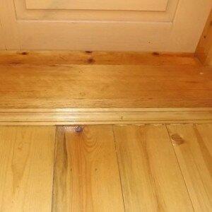 Как сделать порог входной двери