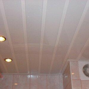 Как сделать подвесной потолок из панелей