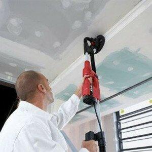 Как очистить потолок от клея